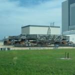 Garage für ein Space Shuttle