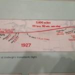 Wir waren etwas schneller als Charles Lindbergh